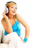 Hörende Musik Lizenzfreies Stockbild
