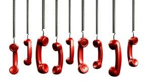 Hörer vom Weinlesetelefon vektor abbildung