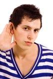 Hörfähigkeit Stockbild