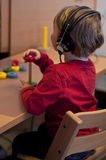 Hörfähigkeitsprüfung Lizenzfreie Stockfotos