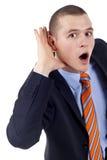Hörfähigkeitssachen lizenzfreies stockfoto
