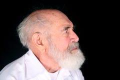 Hörgerätgroßvater Stockbilder