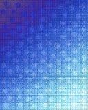 Hörn av blått royaltyfri illustrationer