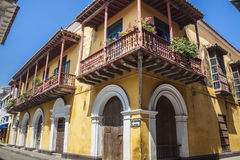 Hörn av Cartagena de Indias Royaltyfria Bilder