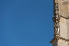 Hörn av den StBarbara kyrkan i Kutna Hora royaltyfria foton