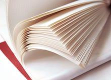 Hörnet av de netto anteckningsböckerna, anteckningsbok för vita sidor arkivfoto