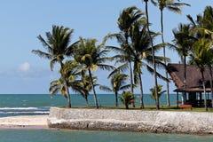 Hörnet av den Arraial d'AjudaEco semesterorten i Bahia royaltyfri foto