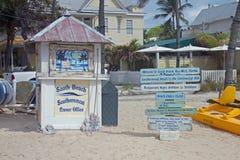 Hörnkontoret på den södra stranden Royaltyfri Bild