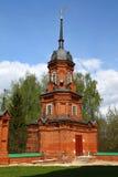 Hörntorn av den Volokolamsk Kreml Ryssland royaltyfri foto