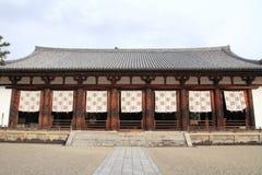 Hörsal av den Horyu jien i Nara Royaltyfria Foton
