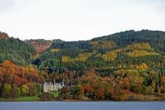 höst bonny scotland Arkivbilder