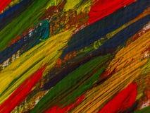 Höst Hand dragen målning abstrakt konstbakgrund tät målning för kanfas upp Färgtextur Fragment av konstverk Penseldrag av målarfä royaltyfri fotografi