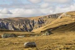 Höst i bergen Fotografering för Bildbyråer