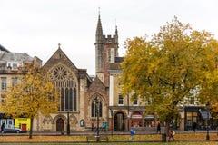 Höst i Bristol royaltyfria bilder