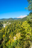 Höst i de Kaukasus bergen, Abchazien Royaltyfria Foton