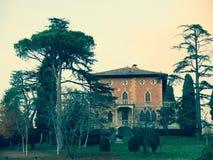 Höst i Italienet Arkivbilder