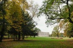 Höst i parkera av Monza Royaltyfri Foto