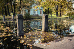 Höst i Peterhof Royaltyfria Bilder