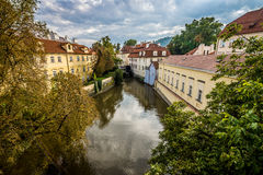 Höst i Prague Arkivbild
