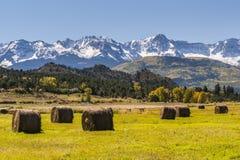 Höst i Rockiesna Arkivbild