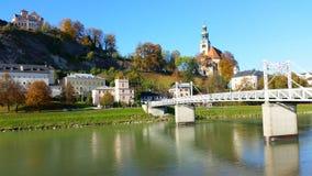 Höst i salzburg Österrike Royaltyfri Foto