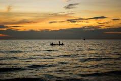 Höst i sjön Fotografering för Bildbyråer