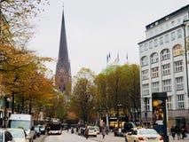 Höst i Tyskland Royaltyfri Fotografi