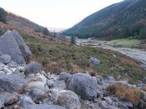 Höst i Wicklow berg, Irland Fotografering för Bildbyråer