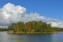 Höst på öar Royaltyfria Bilder