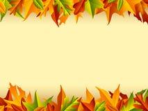 Höstbakgrund Arkivfoto