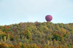 Höstballongflyg Fotografering för Bildbyråer