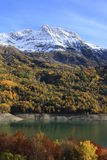 höstberg panticosa pyrenees Arkivbilder
