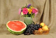 höstblommafrukt Arkivfoto