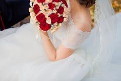Höstbröllopbukett Royaltyfri Bild