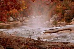 höstcumberland flod Royaltyfri Foto