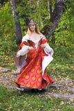 höstdrottning Royaltyfria Bilder