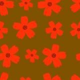Hösten blommar sömlös textur Royaltyfria Foton