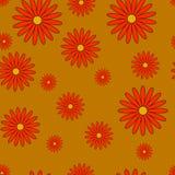 Hösten blommar sömlös textur Arkivfoton