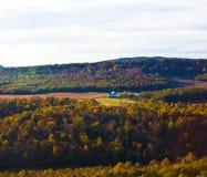 hösten colors natur s Arkivfoton