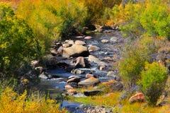 hösten gjorde tidigt bergbergbilden den polara strömmen Arkivbild