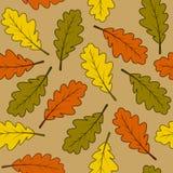 hösten låter vara modellen seamless Fotografering för Bildbyråer