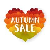 hösten låter vara rött försäljningsord Fotografering för Bildbyråer