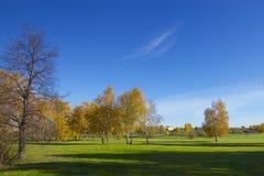 Hösten landskap Arkivbilder