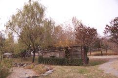 Hösten landskap royaltyfria foton
