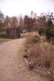 Hösten landskap arkivbild