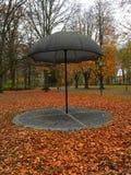 Hösten pildammsparken Royaltyfri Fotografi
