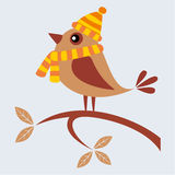 Höstfågel Royaltyfri Fotografi