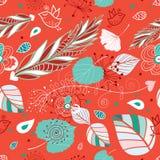 höstgreen låter vara textur royaltyfri illustrationer
