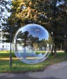 höstlig bubbla Arkivfoto