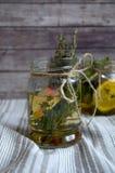 Höstlig växt- drink Royaltyfri Foto
